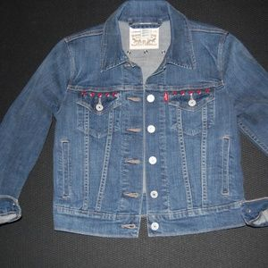 Womens Levis short denim jacket